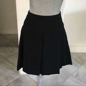 Zara Heavy Knit Black Pleated Skirt
